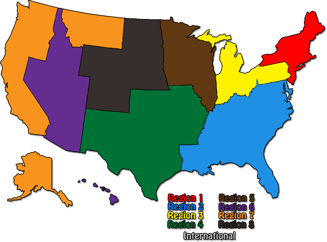 Region One Is Made Up Of The Following States Connecticut Massachusetts Maine New Hampshire New Jersey New York Rhode Island And Vermont